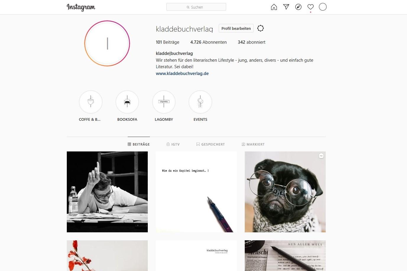 Die Instagram Story