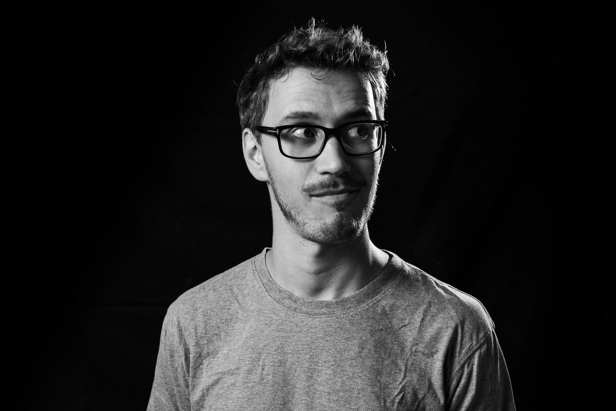 Autor und Slam-Poet Gottfried Haufe